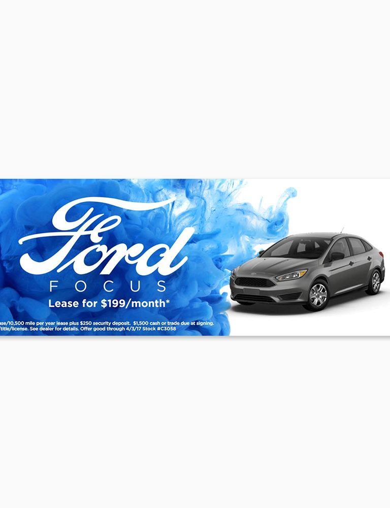 Ford Digital Web Banner
