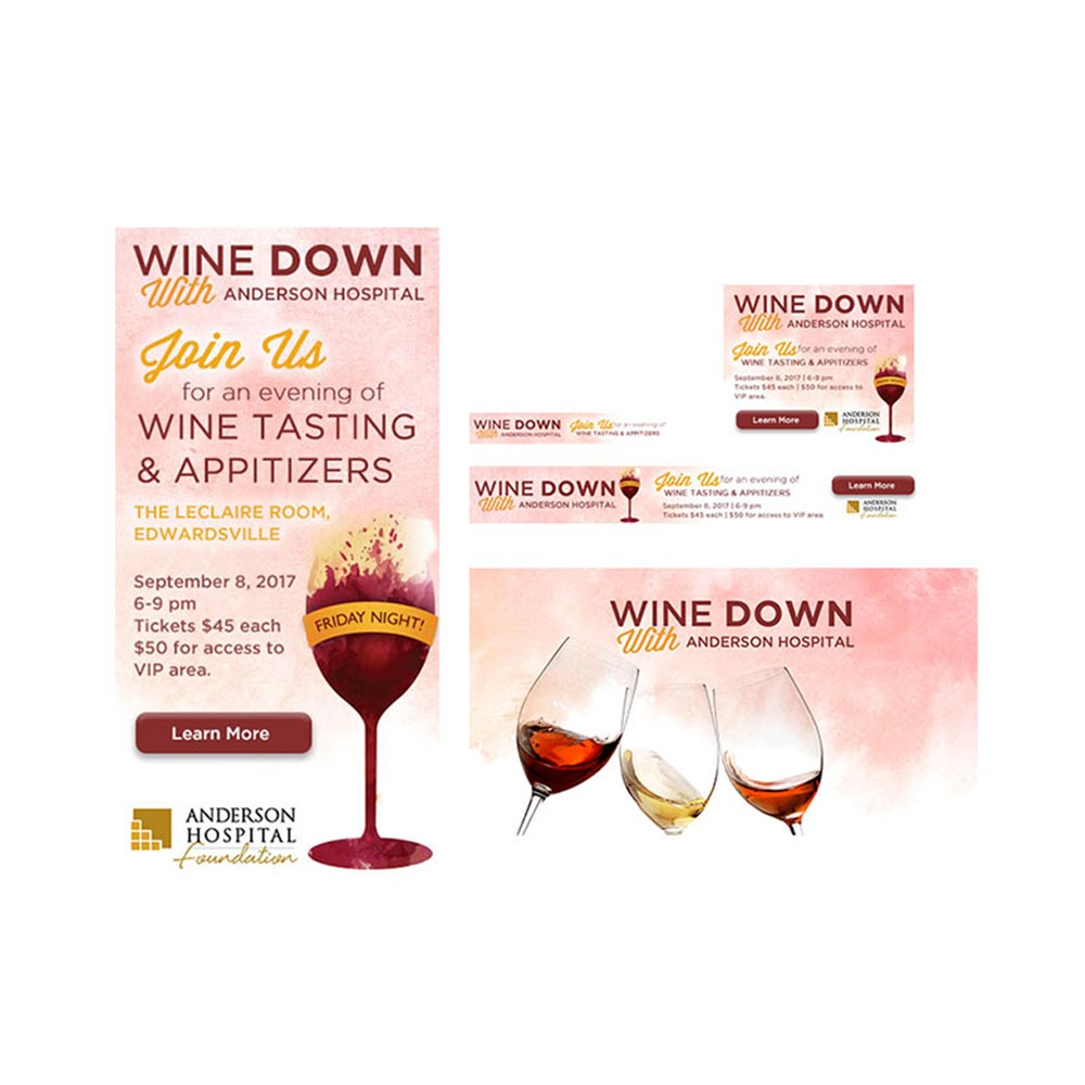 Anderson Hospital Digital Wine Down Ads