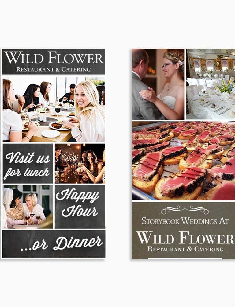 Wildflower Restaurant Digital Ads