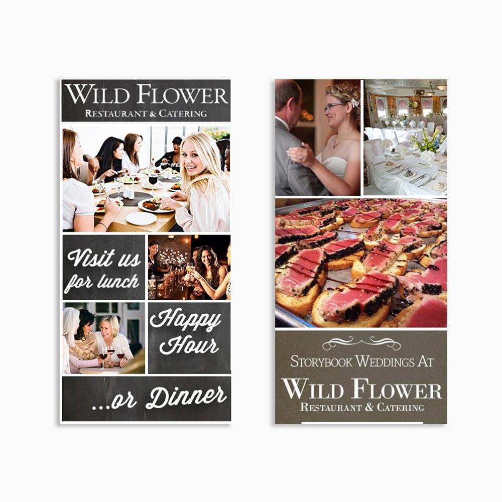 Wildflower Restaurant Digital Ads