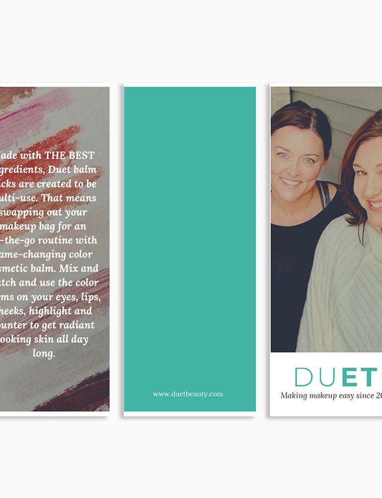 Duet Beauty Brochure