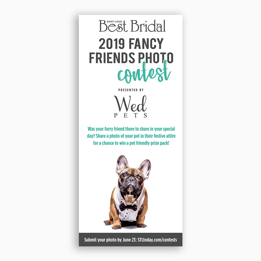 Best Bridal Wed Pets Magazine Ad