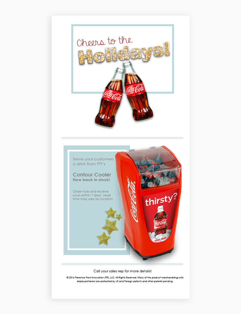 Coca Cola Email Marketing