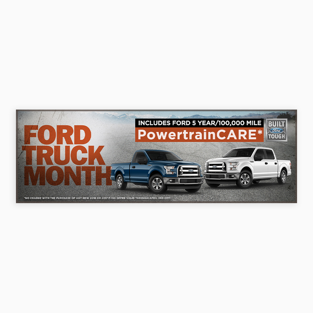 Ford Truck Month Ad