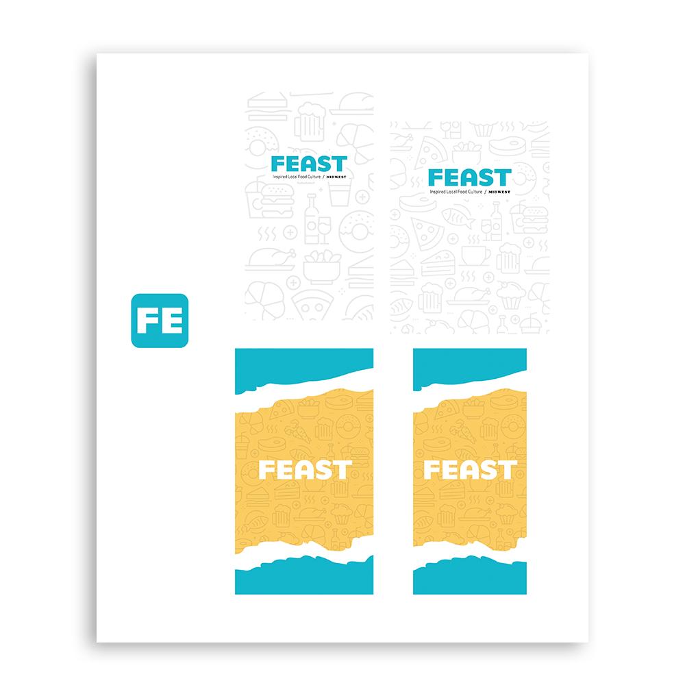 Feast App Graphics